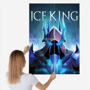 Obraz Fortnite Ice King